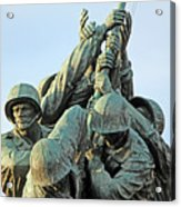 The Front Up Close -- The Iwo Jima Monument Acrylic Print
