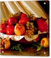 The Fruits Of Caravaggio Acrylic Print
