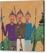 The Fu Man Brothers Acrylic Print