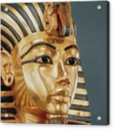 The Funerary Mask Of Tutankhamun Acrylic Print