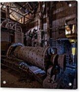 The Furnace And The Rocket 2  La Fornace E Il Razzo 2 Acrylic Print
