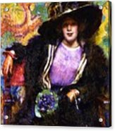 The Furs 1911 Acrylic Print