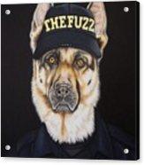 The Fuzz Acrylic Print