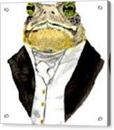 The Gentleman Acrylic Print