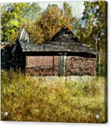 The Gallery Is Closed Acrylic Print