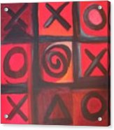 The Game Is Fixed Acrylic Print by Andrea Friedell