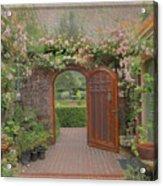 The Garden Door Acrylic Print