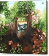 The Garden Gate Acrylic Print