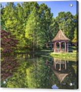 The Garden Gazebo Acrylic Print
