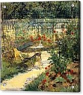 The Garden Of Manet Acrylic Print