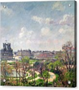 The Garden Of The Tuileries Acrylic Print