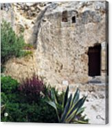 The Garden Tomb Acrylic Print