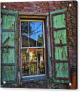 The Garden Window Acrylic Print