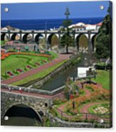 The Gardens Of Ribeira Grande Acrylic Print