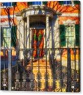 The Gardner-pingree House 1804 Acrylic Print
