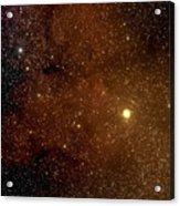 The Garnet Star Acrylic Print
