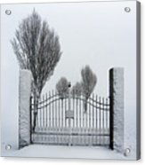 The Gates To Nowhere Acrylic Print