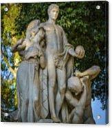 The Genius Maria Luisa Park Seville Spain Acrylic Print