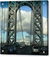 The George Washington Bridge  Acrylic Print