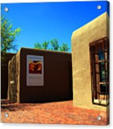 The Georgia O'keeffe Museum In Santa Fe Acrylic Print