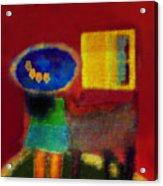 The Girl In The Mirror 2 Acrylic Print
