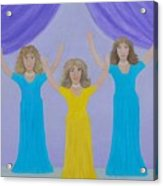 The Giving Of Praise Acrylic Print