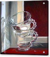 The Glass Cups Acrylic Print