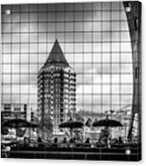 The Glass Windows Of The Market Hall In Rotterdam Acrylic Print
