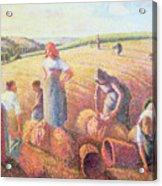 The Gleaners Acrylic Print