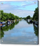 The Gloucester And Sharpness Canal Acrylic Print