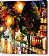 The Glowing Night Acrylic Print
