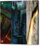 The Gods Triptych 1 Acrylic Print by Ken Walker