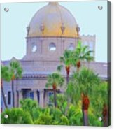 The Gold Dome Acrylic Print