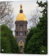 The Golden Dome Acrylic Print