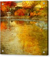 The Golden Dreams Of Autumn Acrylic Print