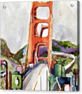 The Golden Gate Bridge San Francisco Acrylic Print
