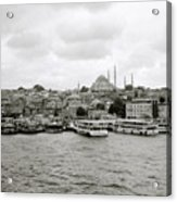 The Golden Horn Acrylic Print