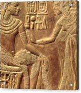 The Golden Shrine Of Tutankhamun Acrylic Print