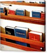 The Good Books Acrylic Print