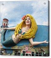 The Good Mermaid Acrylic Print