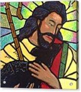 The Good Shepherd - Practice Painting Two Acrylic Print