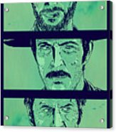 The Good The Bad And The Ugly Acrylic Print by Giuseppe Cristiano