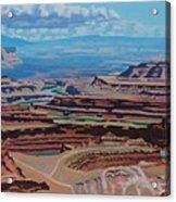 Dead Horse Point, Moab Utah Acrylic Print