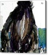 The Gorilla Snub Acrylic Print