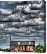 The Grain Barn Acrylic Print
