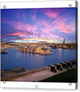 The Gran Harbour Acrylic Print