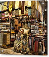 The Grand Bazaar In Istanbul Turkey Acrylic Print