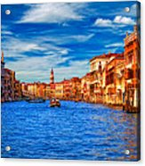 The Grand Canal Acrylic Print
