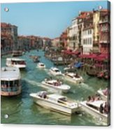 The Grand Canal Venice Acrylic Print