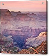 The Grand Canyon  South Rim At Dusk Acrylic Print by Ryan Kelly